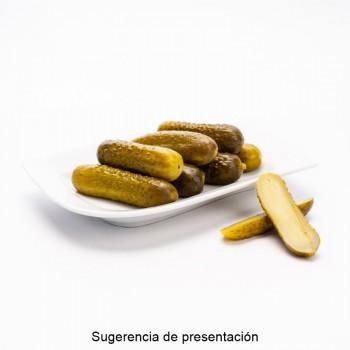 CUBO BANDERILLAS PICANTES | PESO NETO 7,8 KGS /PESO ESCURRIDO 3,8 KGS