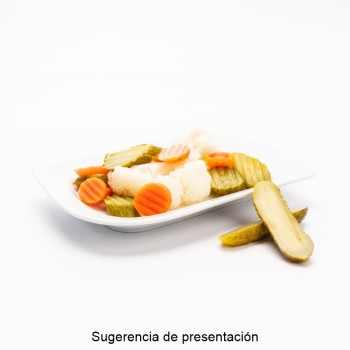 CUBO GUINDILLAS | PESO NETO 3,7 KGS / PESO ESCURRIDO 2 KGS
