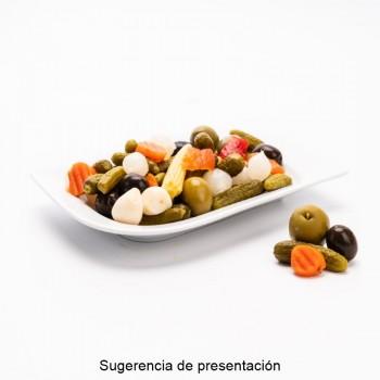 CUBO PEPINILLOS | PESO NETO 7,8 KGS / PESO ESCURRIDO 4,2 KGS