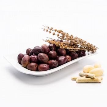 Surtido Jiennense | Aceitunera Jiennense | Surtido 6 Botes de Productos de Jaén | Variedad de Aceitunas y Encurtidos