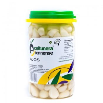 CUBO ACEITUNA VERDE MACHACADA 100% NATURAL | PESO NETO 11 KGS / PESO ESCURRIDO 6,5 KGS