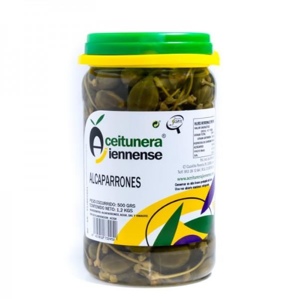 CUBO ACEITUNA SABOR ANCHOA HOJIBLANCA | PESO NETO 711 KGS /PESO ESCURRIDO 6,5 KGS